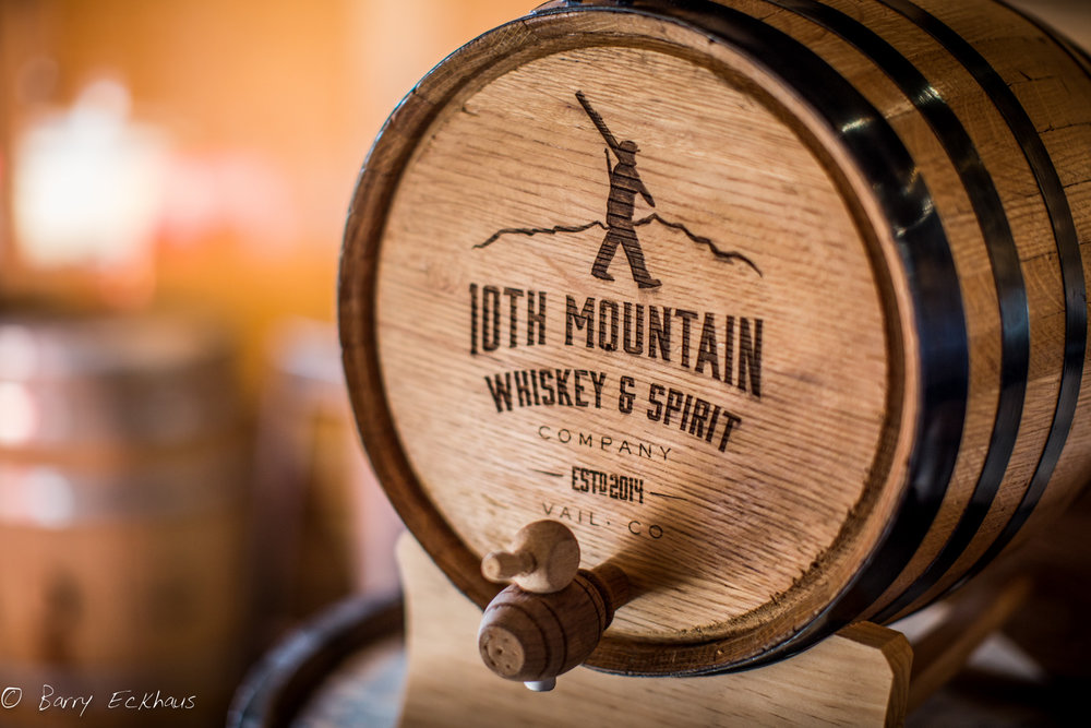 10th Mountain Distillery barrel 1