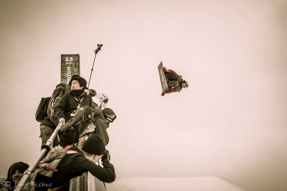 U.S. Burton Open Men's Snowboarding Halfpipe Finals