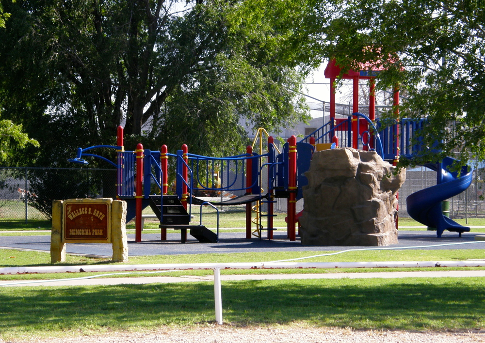 Playground and Walking Track