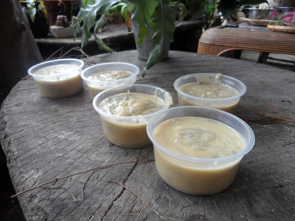 Making organic soap at Herboland