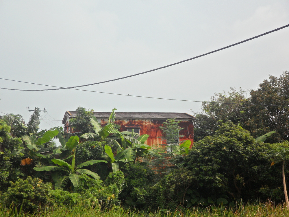 A rusted house