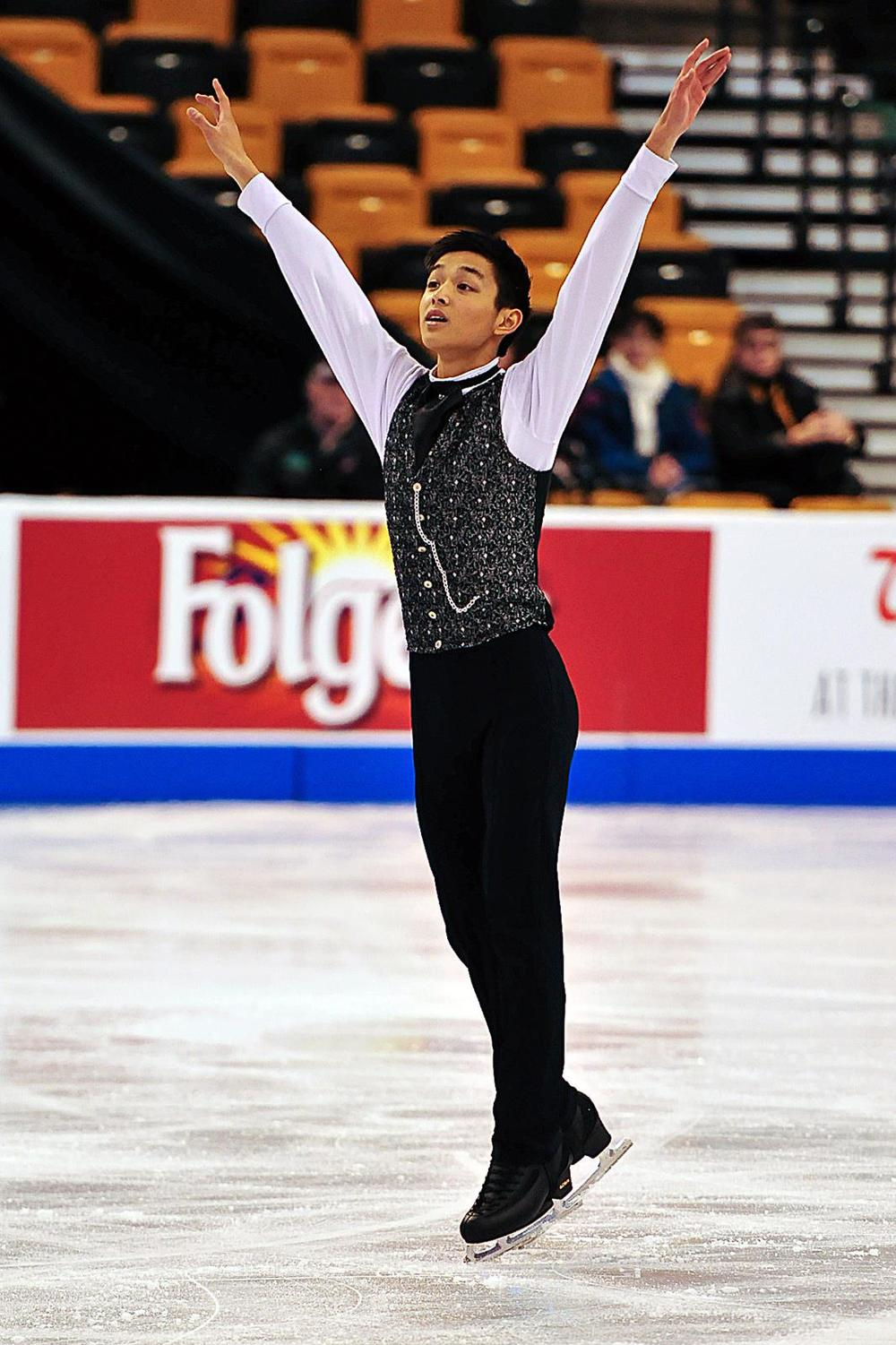 Kevin at the 2014 US Championships