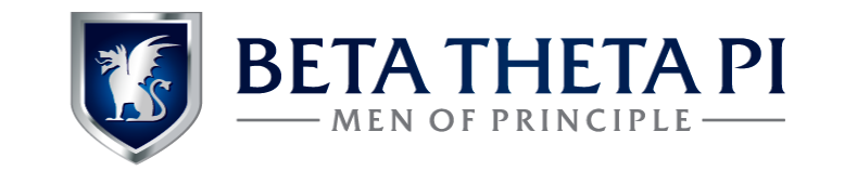 The official Beta Theta Pi horizontal identity.