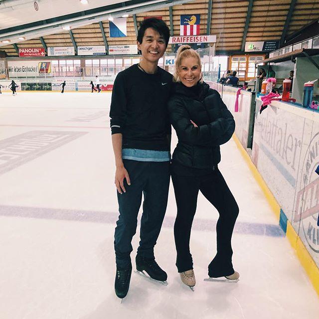 Had a blast skating with @denisebiellmann! 💪Dankeschön for having me!