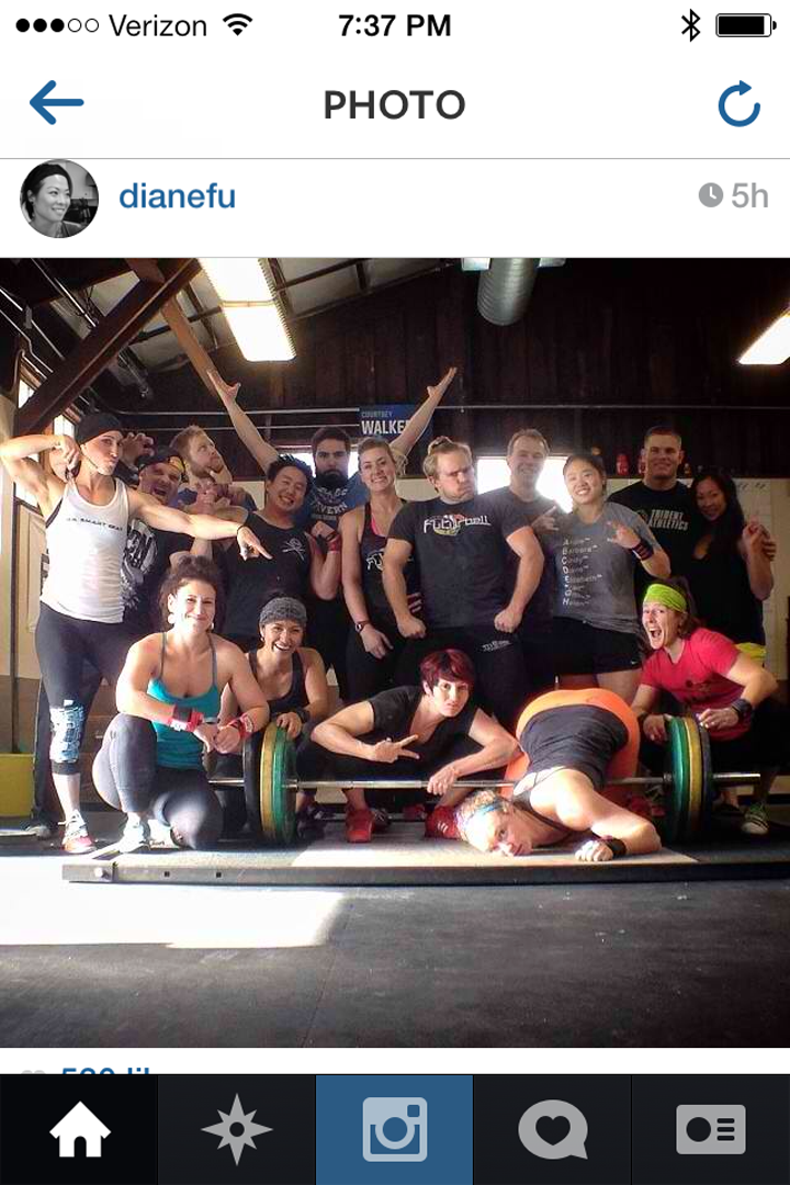 I follow Diane Fu on Instagram...I made it to her post yesterday. EEEEk...I know, I'm a nerd.