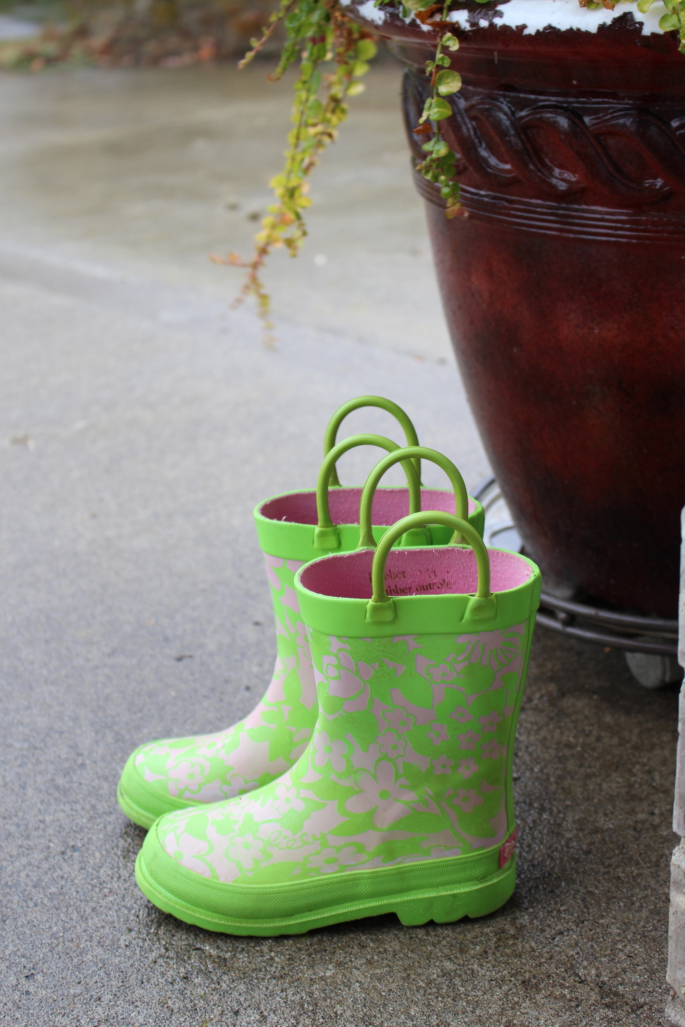 Lilly Pulitzer rainboots from resale