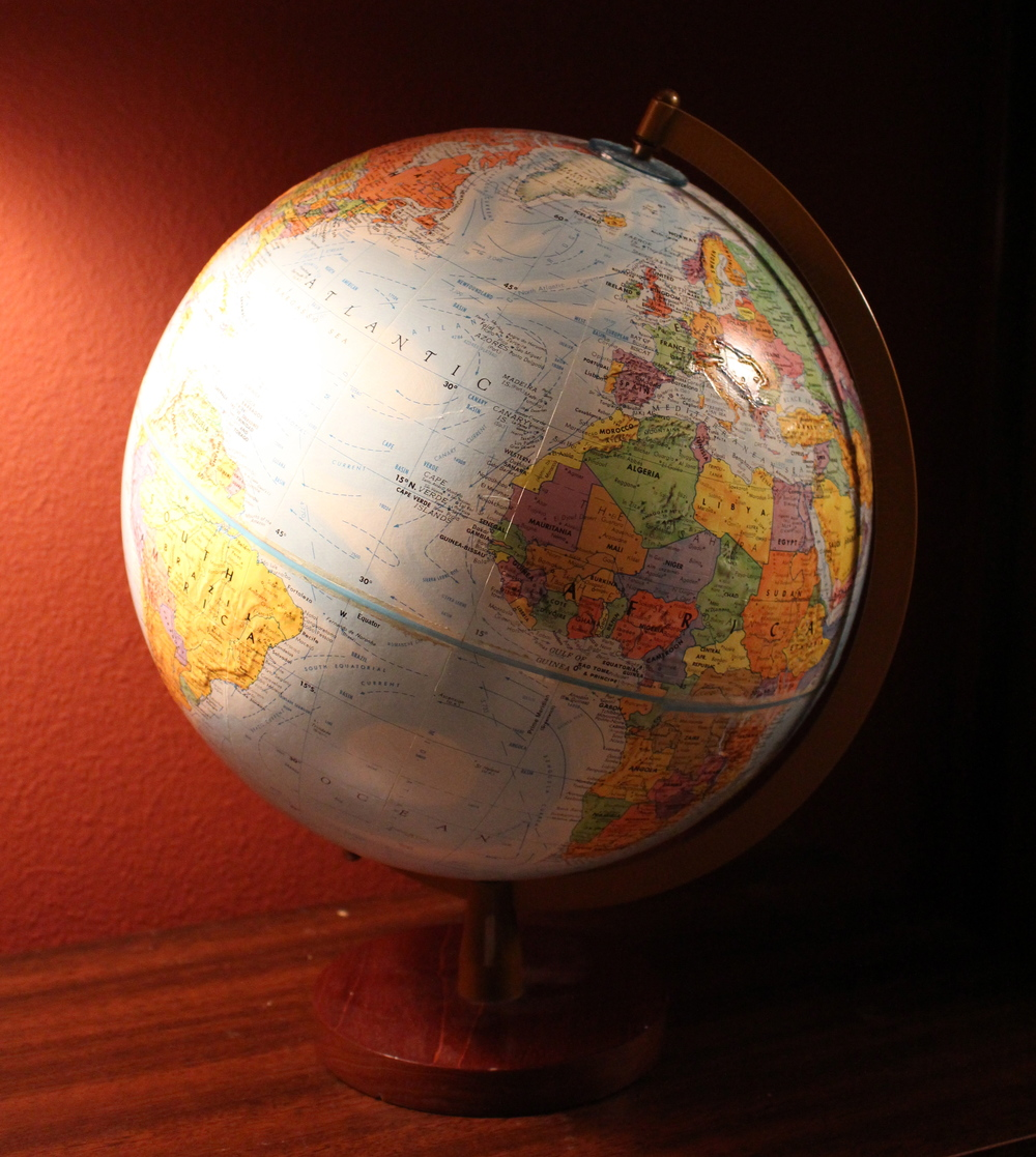 World globe from resale
