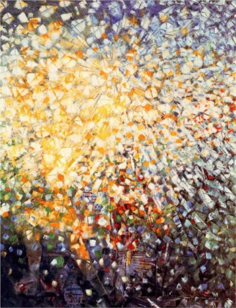 33 Little Girls Chasing Butterflies by Max Ernst