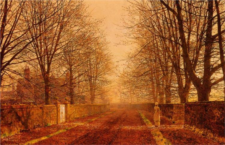 Golden Light by John Atkins Grimshaw