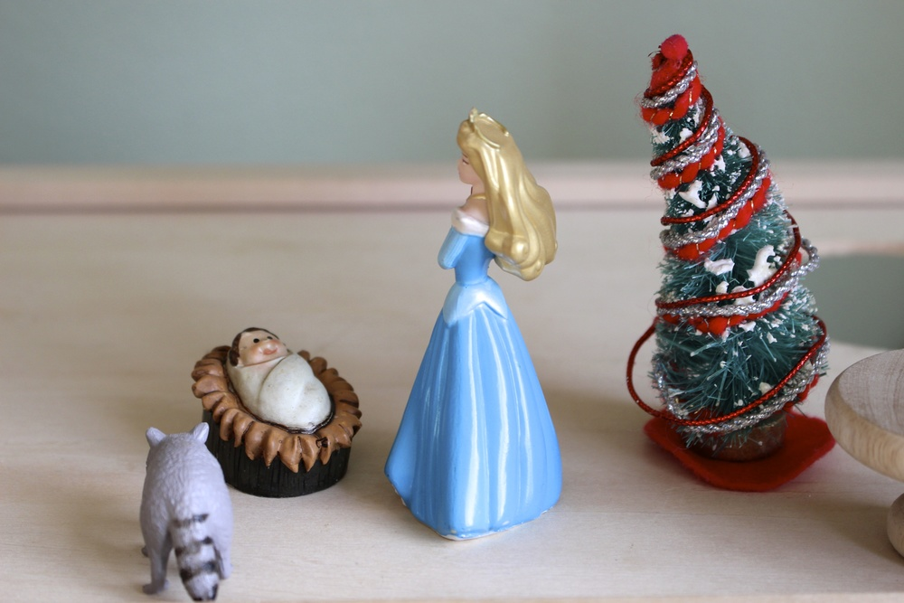 nativity figurines in dollhouse intentional mama