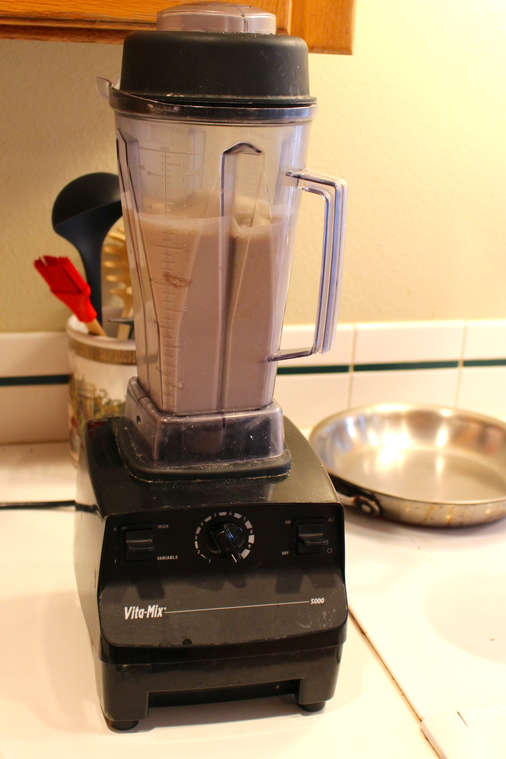 Crepe batter blender Vitamix Intentional Mama.jpg