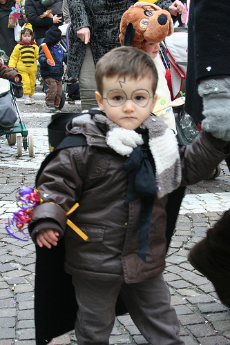 A young  French Harry Potter  via Flickr