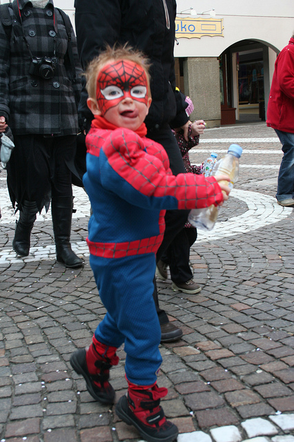 Did you know Spiderman is pronounced Spee-der-man in French?  Spiderman  Photo via Flickr
