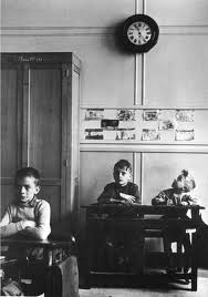 Le Cadran scolaire by Robert Doisneau, 1956