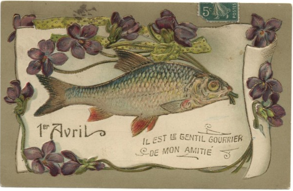 Vintage French postcard via Multicollection.fr