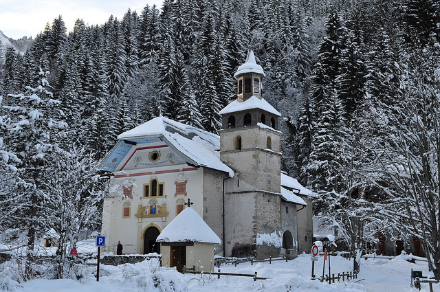 Notre-Dame de la Gorge, Rhône-Alpes, France by Bernard Blanc