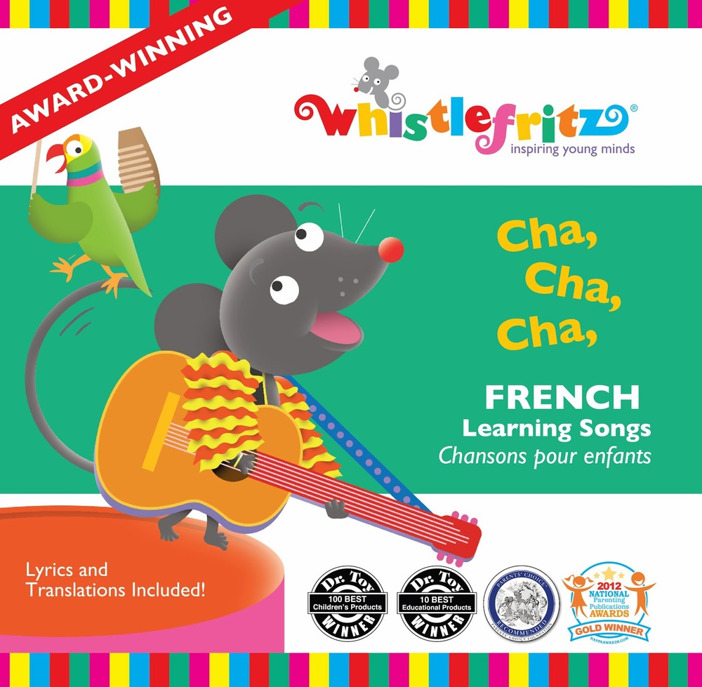 Whistlefritz Cha Cha Cha French CD music learning children