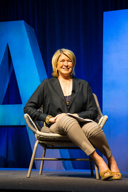 Martha Stewart at Alt Summit 2014 by Justin Hackworth