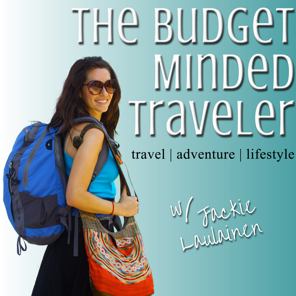 Jackie Laulainen's budget-travel podcast