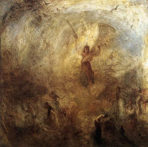 The Angel Standing in the Sun by William Turner, 1846.