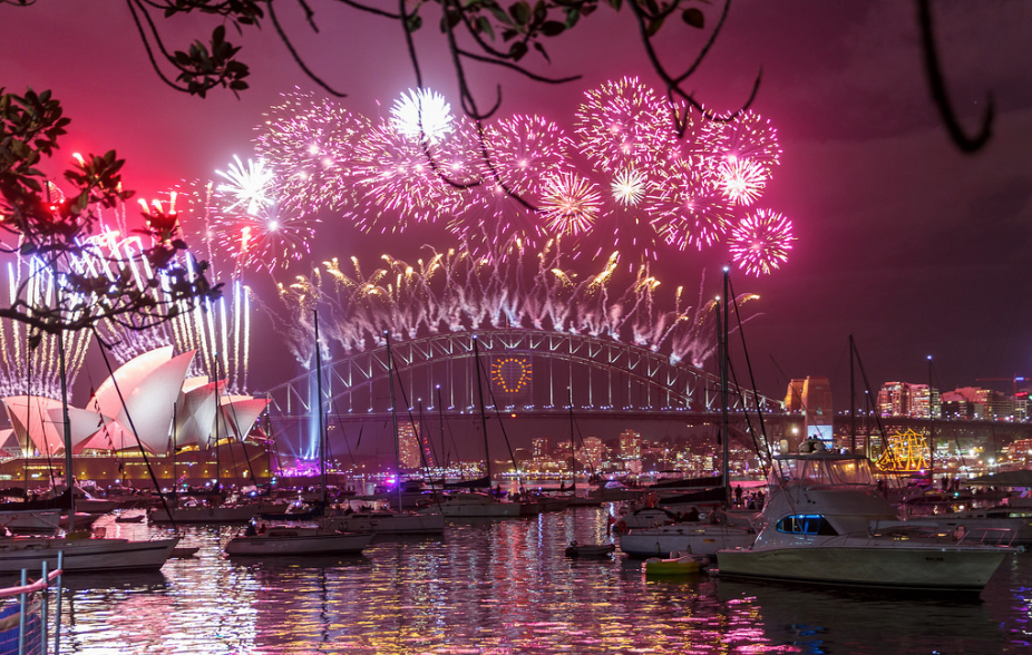 Happy New Year in Sydney by  Loïc Lagarde