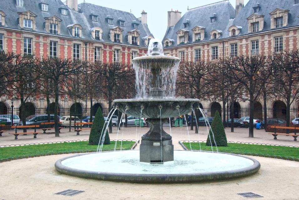 Place des Vosges, Paris 4ème, by  John Weiss