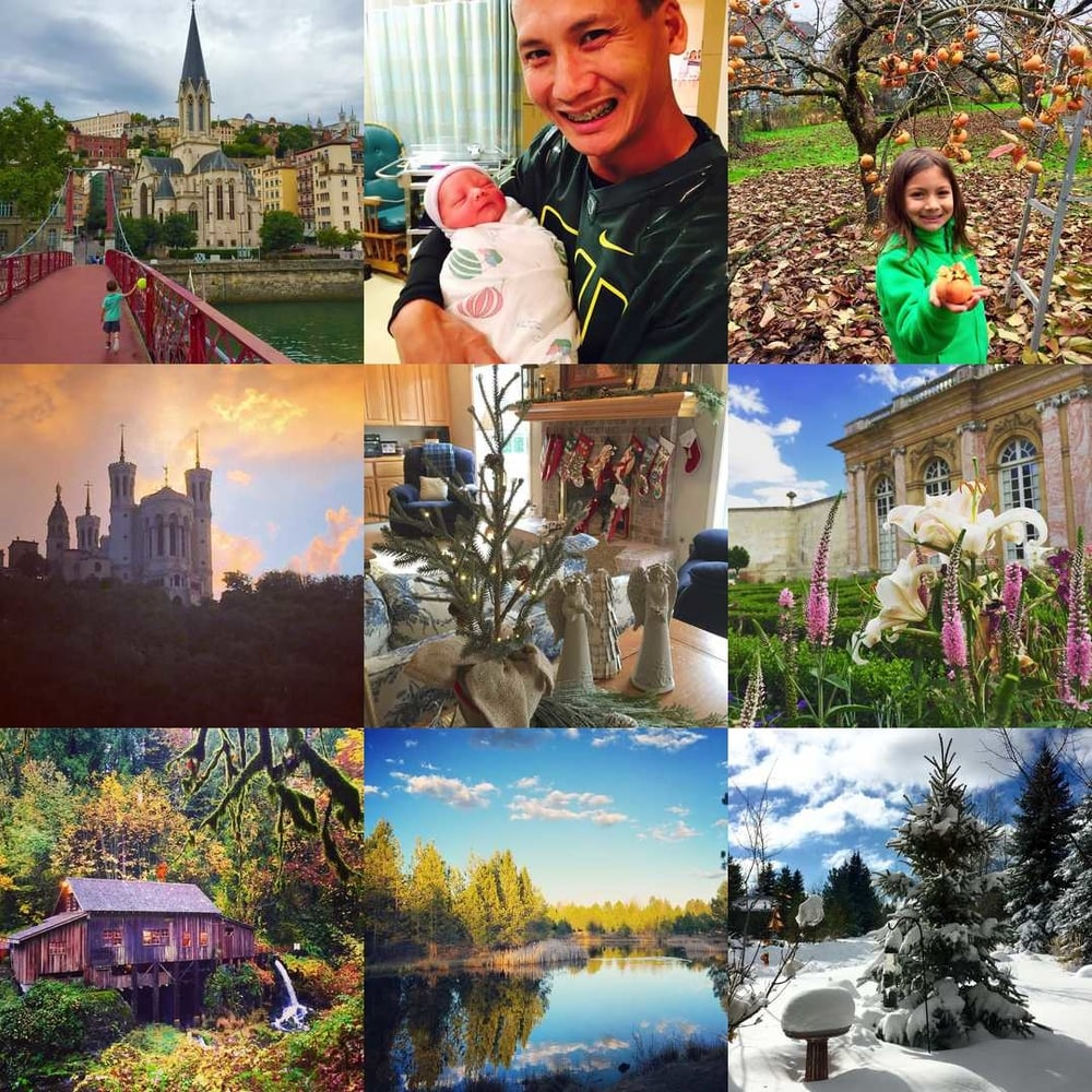 My most-liked  posts on Instagram  in 2015
