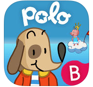 Polo's world le monde de Polo French adventure game app ages 4-7 Bayard