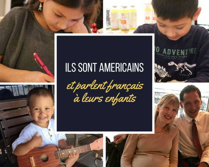 French English language non-native minority family USA France Intentional Mama