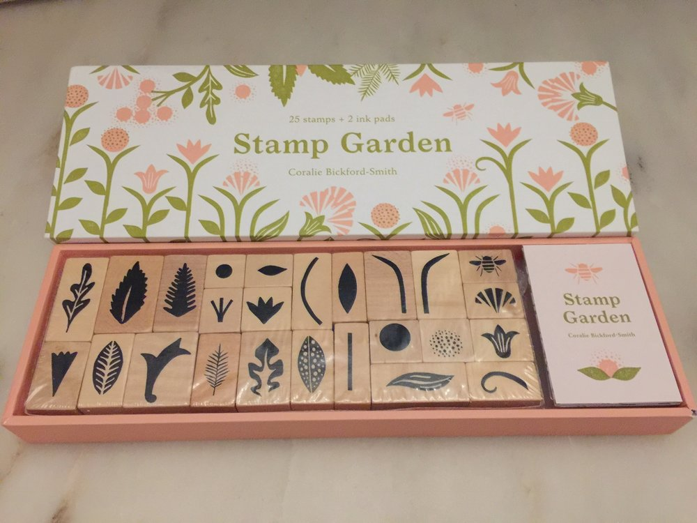 Stamp Garden Princeton Press Gardener Mom gift.jpg