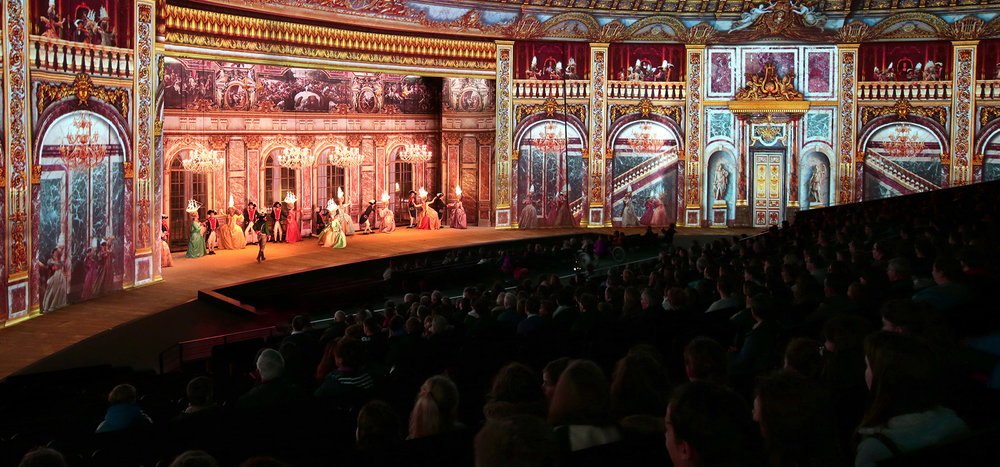 Scene from Le Dernier Panache; photo courtesy Puy Du Fou