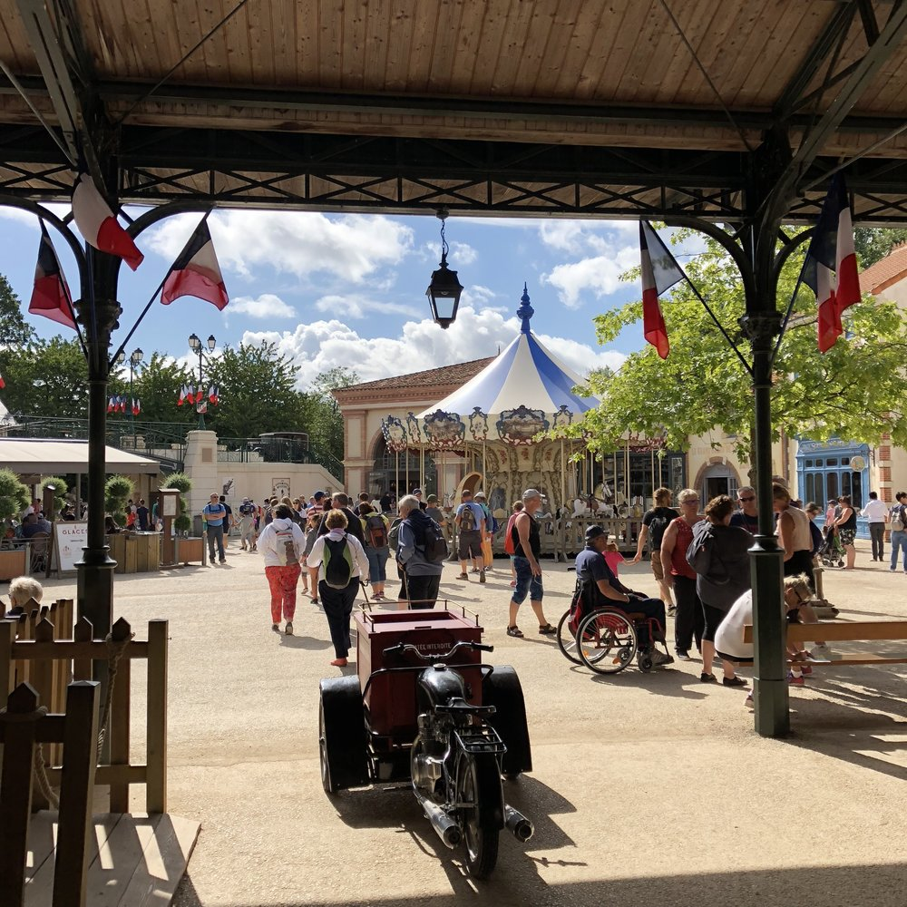 The 1900s Village at Puy du Fou theme park