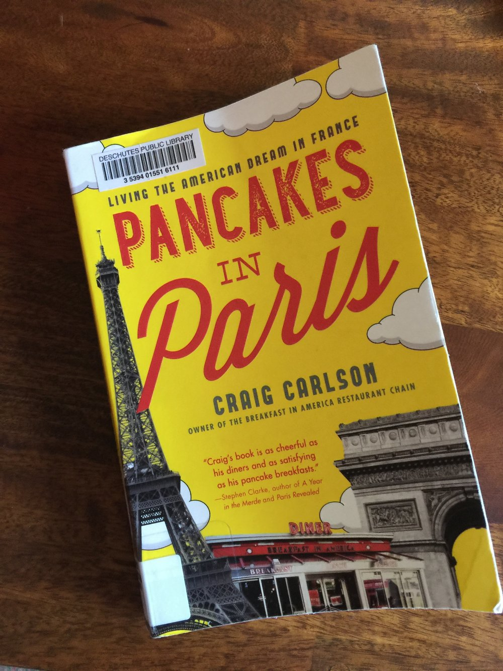American diner pancakes drip coffee sock juice paris craig carlson book review