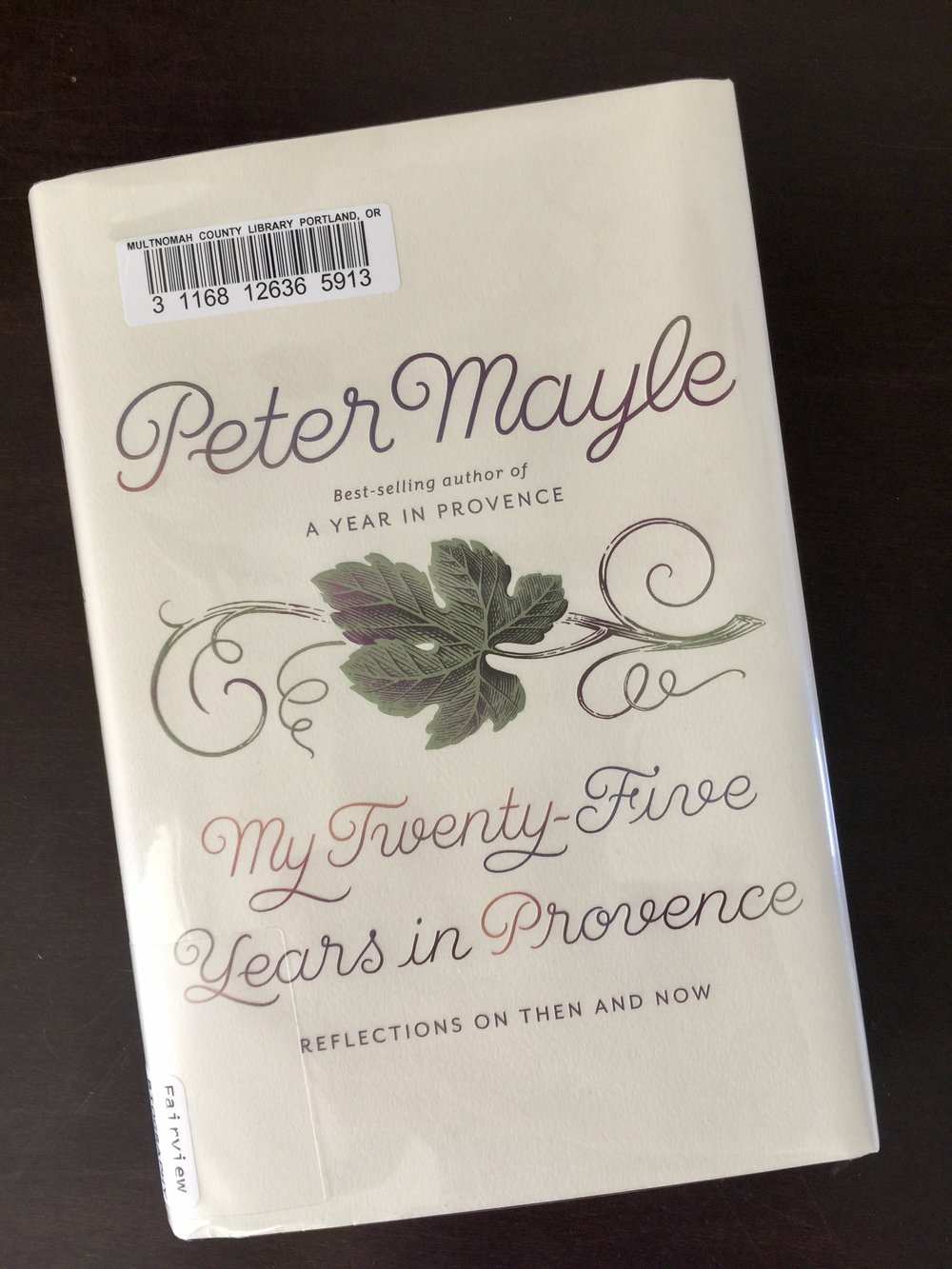 Peter Mayle my 25 years in provence blog review final reflections essays travel writer france classic