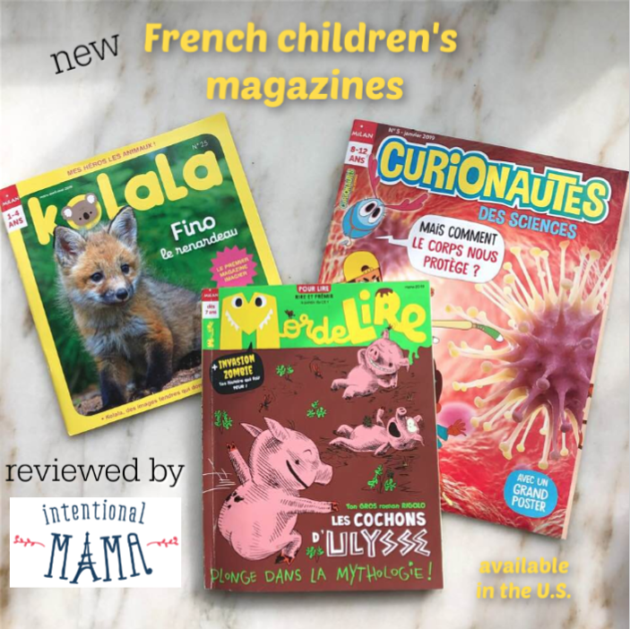 French children's magazines new US available review Intentional Mama blog.png