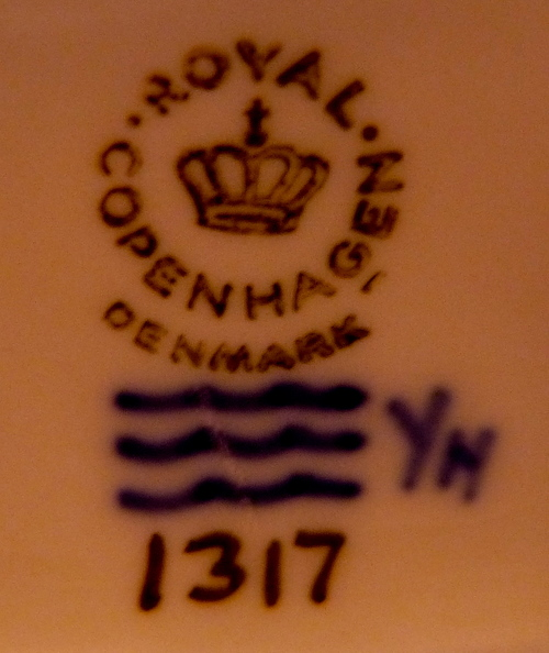 Common Royal Copenhagen Mark