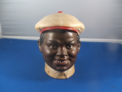Blackamoor Tobacco Jar