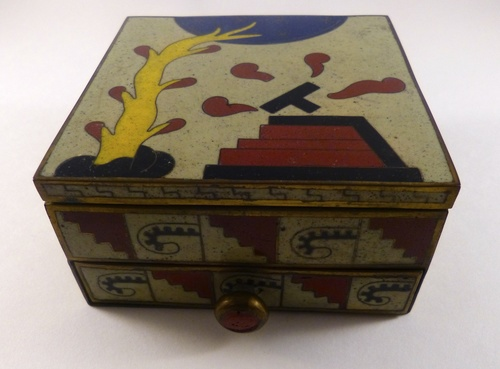 Cloisonne Art Deco Box
