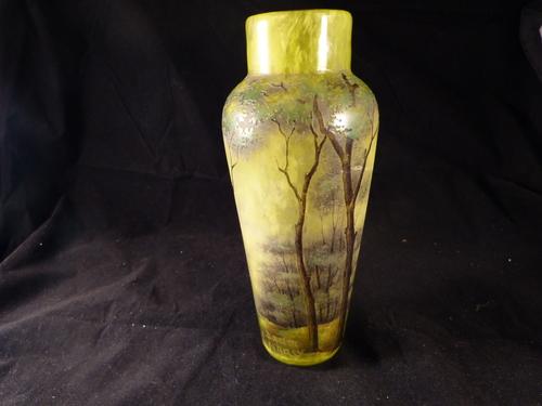 Art Nouveau Daum Vase