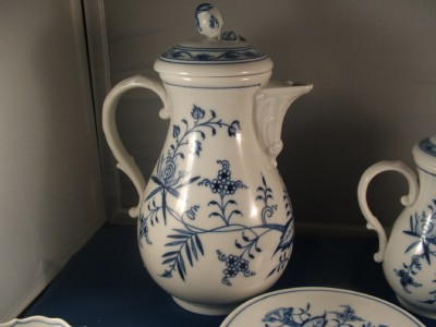 Meissen Blue Onion Pitcher