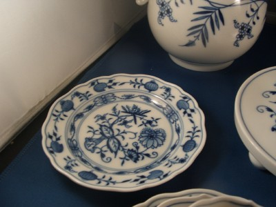 Meissen Blue Onion Plate