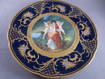 Royal Vienna Plate
