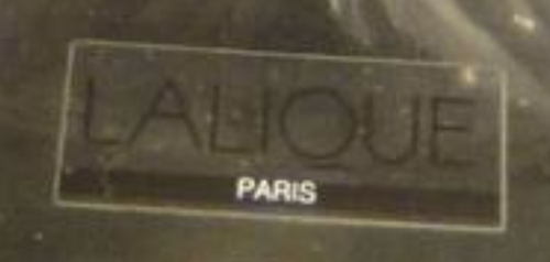 Lalique Sticker