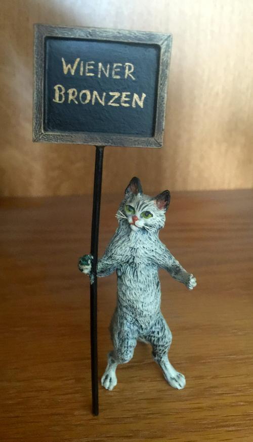 Vienna Bronze Wiener Cat