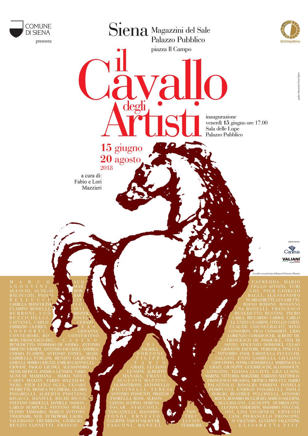 Partecipo con un'illustrazione realizzata a pastelli su carta..una fuga a cavallo....