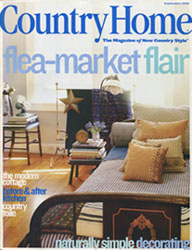 COUNTRY HOME  September 2001