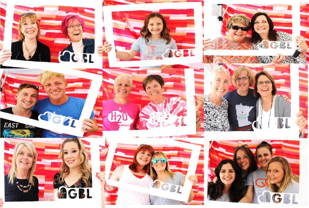 Customers had a wonderful time at the Shop. Give. Local. event
