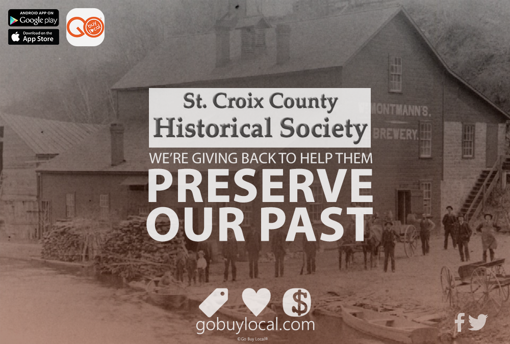 Social Gifting sends the St. Croix County Historical Society some LOVE!