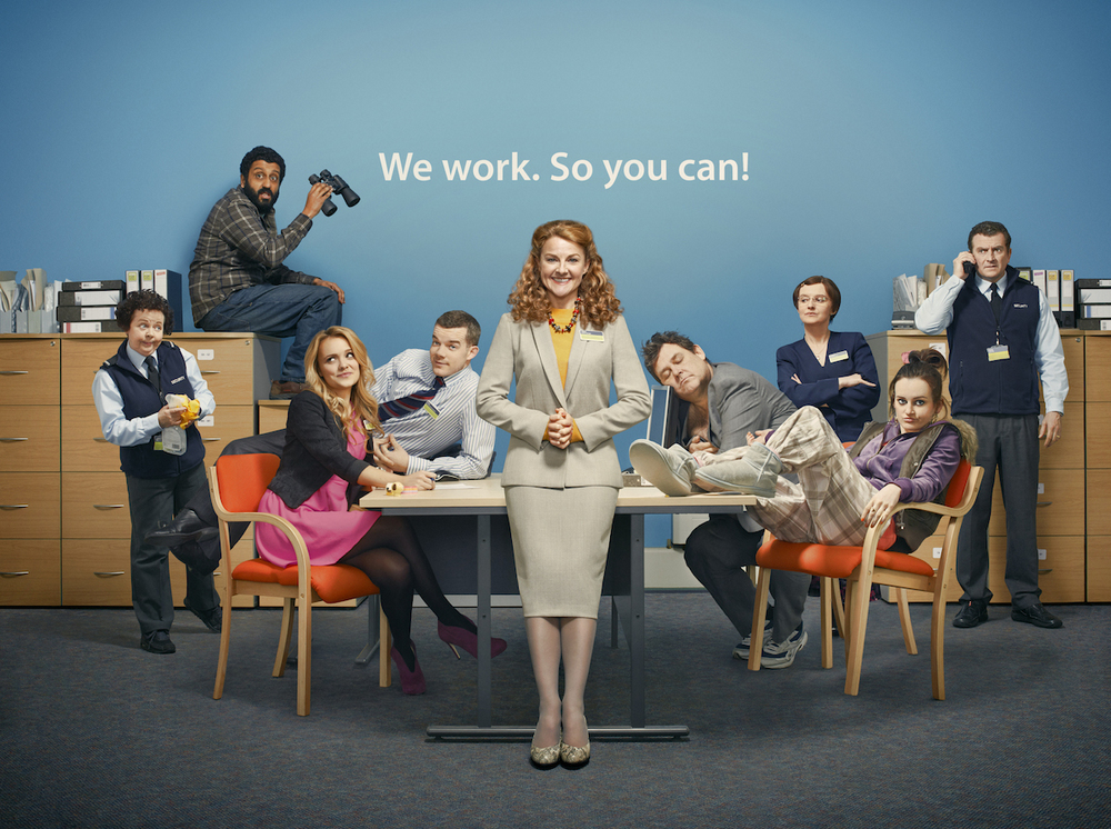 The Job Lot  - Series II & IIIART DIRECTOR Tiger Aspect for ITV 23min 6 ep. Comedy set in a Job centre in Birmingham.