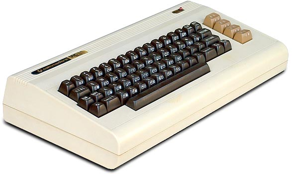 The VIC-20. My first computer, from 1982.